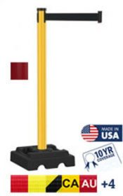 Utility Safety 300 Series Crowd Control Stanchion, 10′
