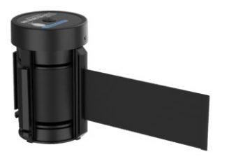 Premium Replacement Cassette Black Retractable Belt