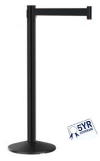 vs301 value series retractable belt stanchion
