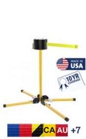 SM6500 Series Extra Long Span Outdoor Retractable Stand Mount, 65′