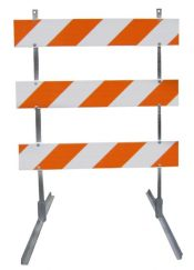 Type III Traffic Barricade – 4′ Wide