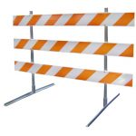 Type III Traffic Safety Barricade reflective High Intensity Bands