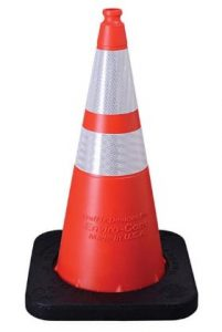 Value Reflective Traffic Cone Orange 28in