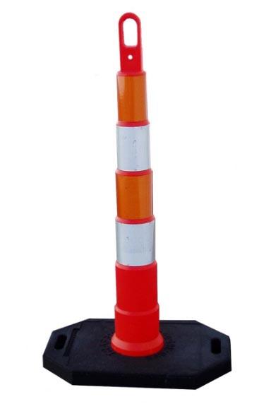Value Traffic Delineator Cone Orange