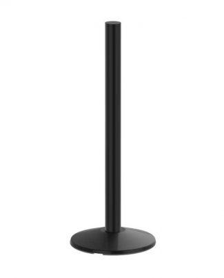 Premium Three Foot Black Sign Post