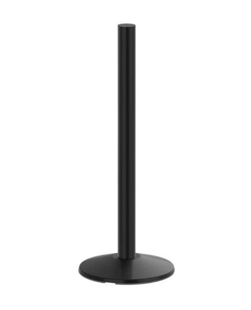 Premium Three Foot Black Sign Post