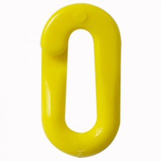 Large Plastic Connector Yellow