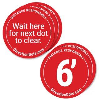 Direction Dots Floor Decal
