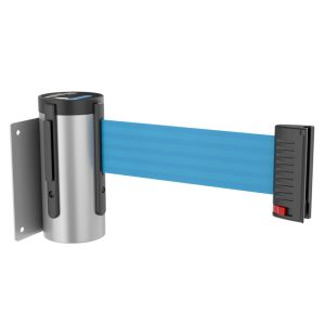 Wall Mounted Retractable Belt Barrier from Crowd Control Store